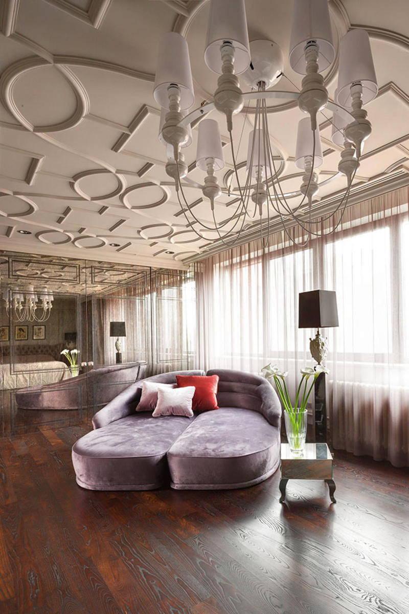 проекта рисунки на потолок в стиле модерн фото любуются