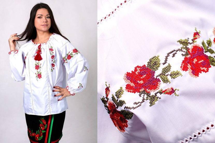 Традиционная украинская вышиванка