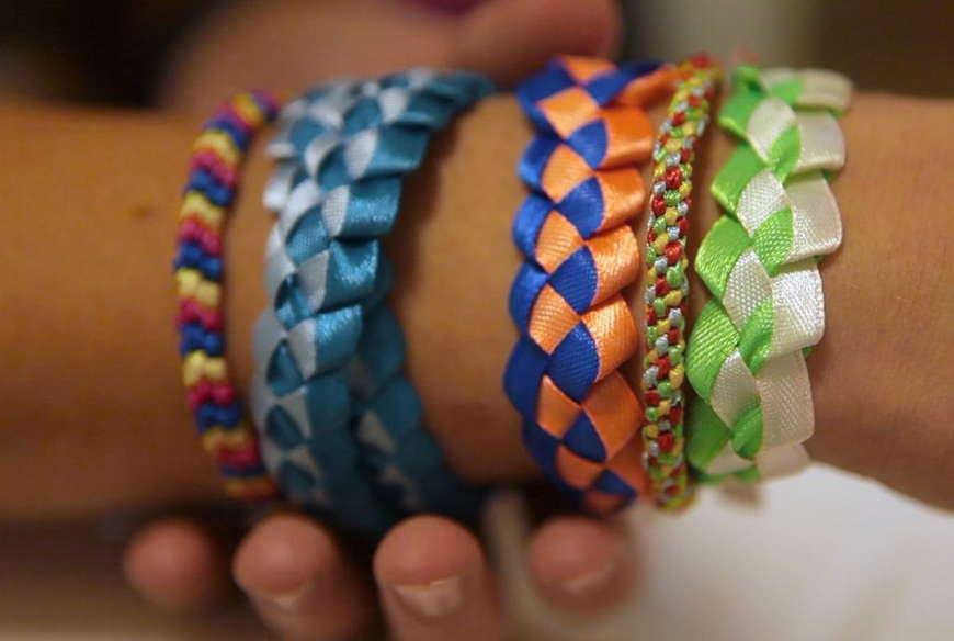 картинки плетение разных фенечек