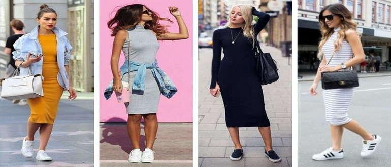 Платья в стиле casual
