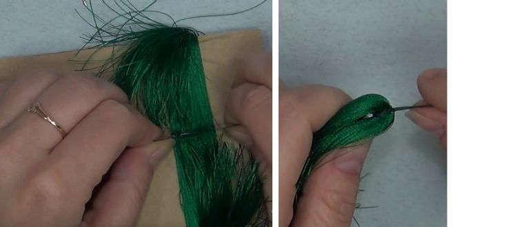как делать сережки