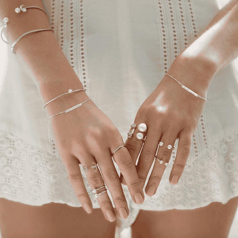 Бохо кольца и браслеты
