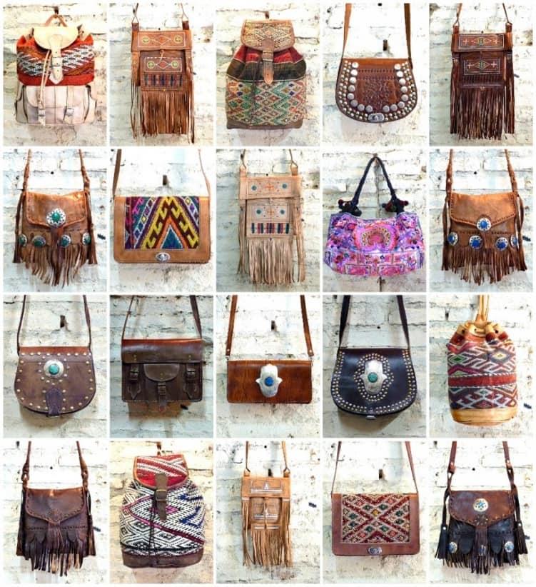 Разнообразие сумок бохо