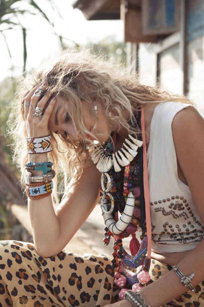браслеты и бижутерия в стиле бохо