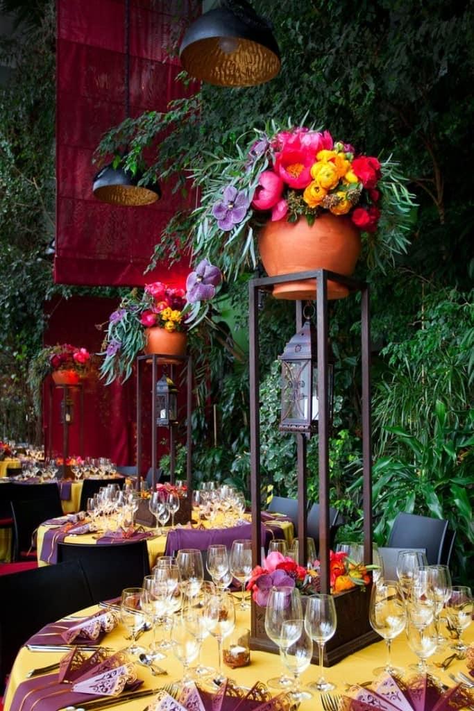цветы на свадьбе Бохо
