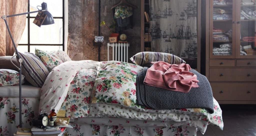 винтаж в интерьере-текстиль
