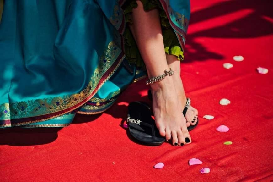 индийские браслеты на ногу