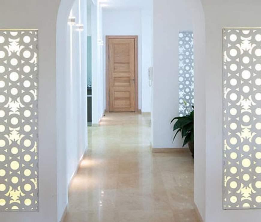 коридор в восточном стиле