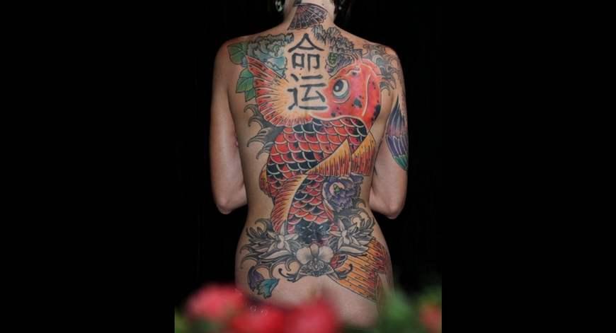 Все тело в татуировках фото