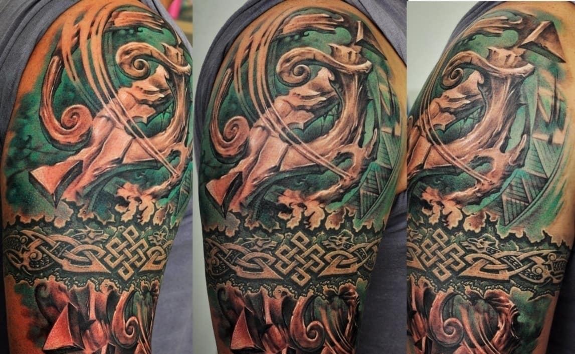 кельтская татуировка