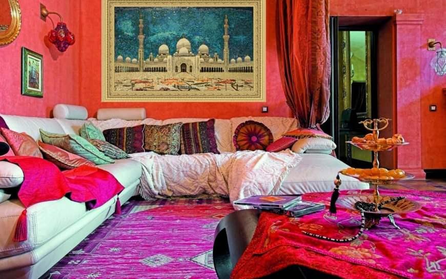 комната в восточном стиле
