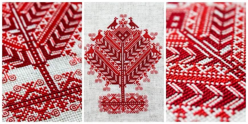 Схемы вышивки белорусских узоров