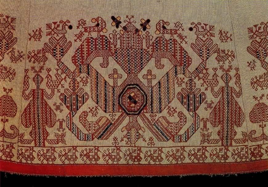 Вышивки белорусского орнамента