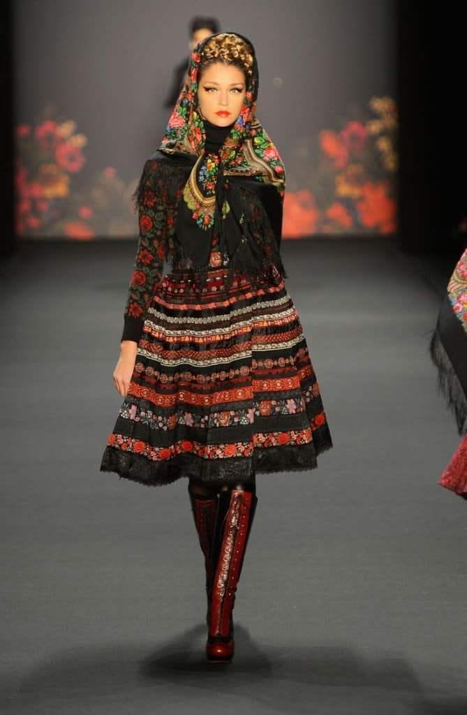 Этнический стиль России