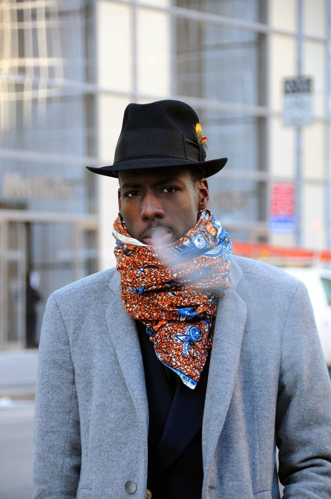 Мужской африканский стиль