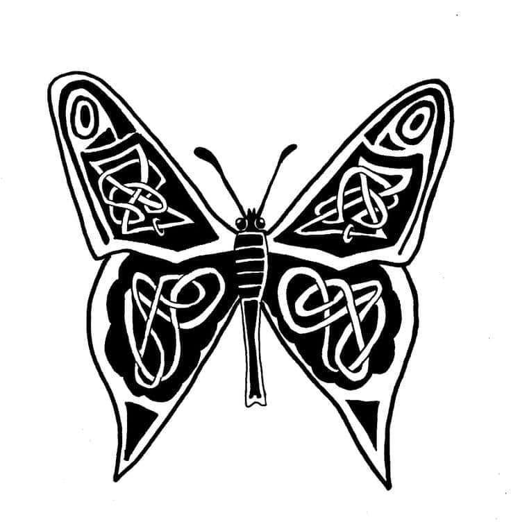 Кельтская бабочка