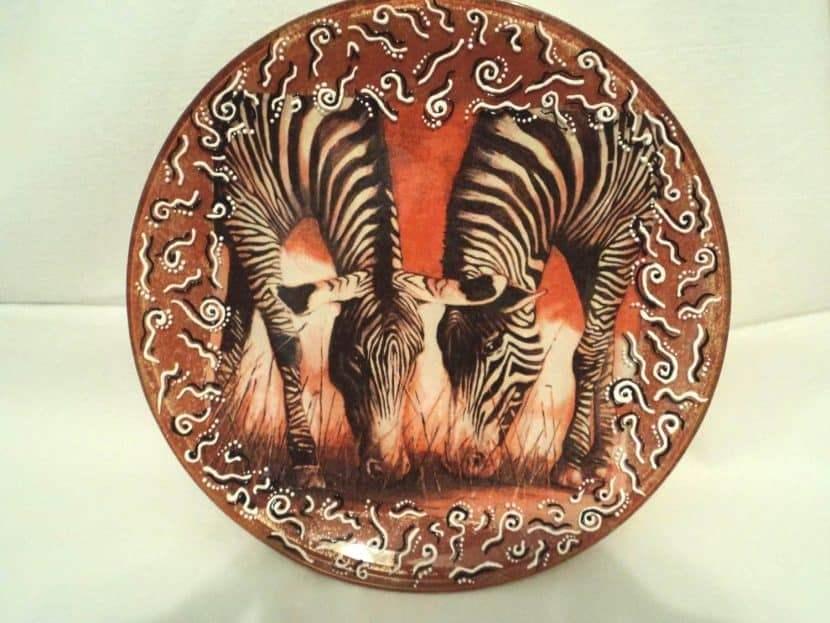 Декупаж зебры