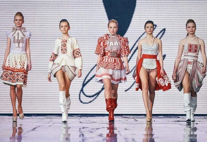Белорусский стиль на подиуме