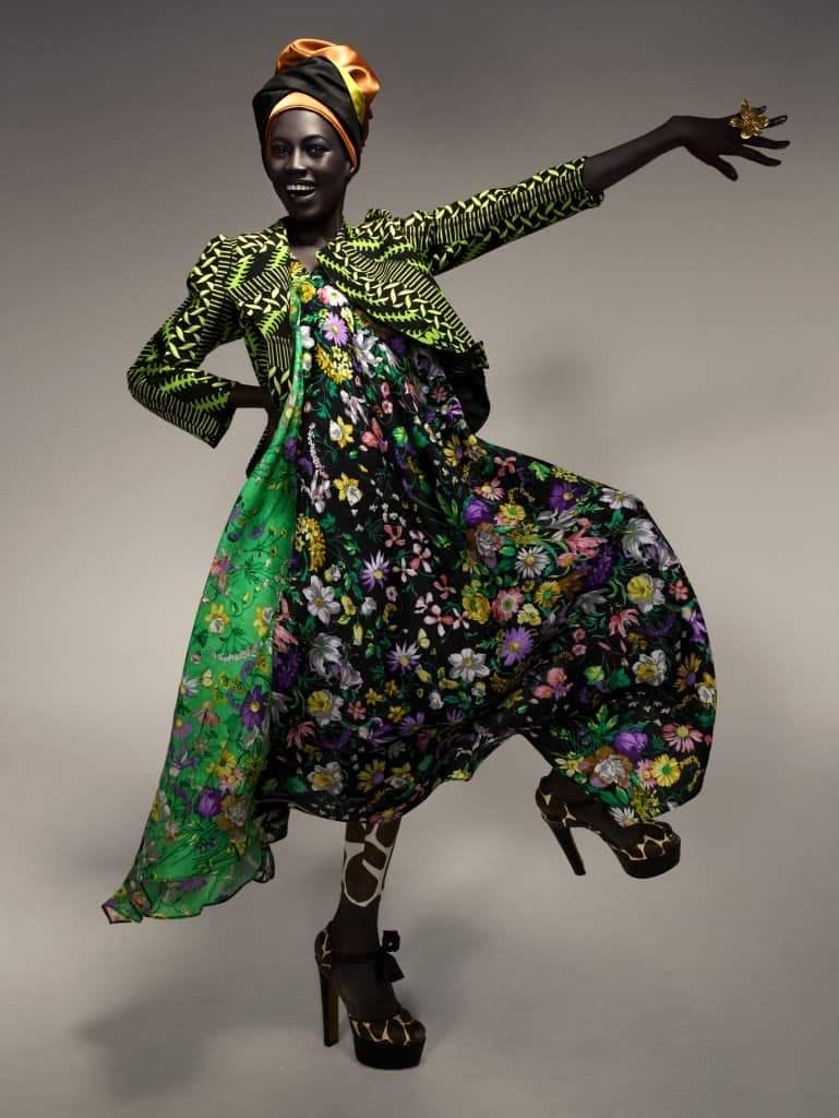 Африканский стиль этно