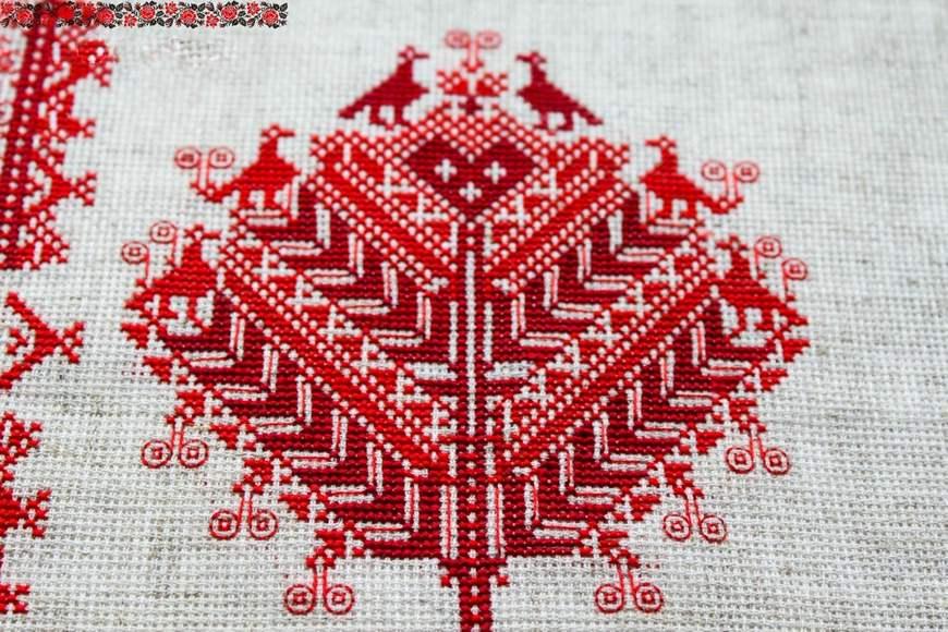 Мотивы славянских вышивок