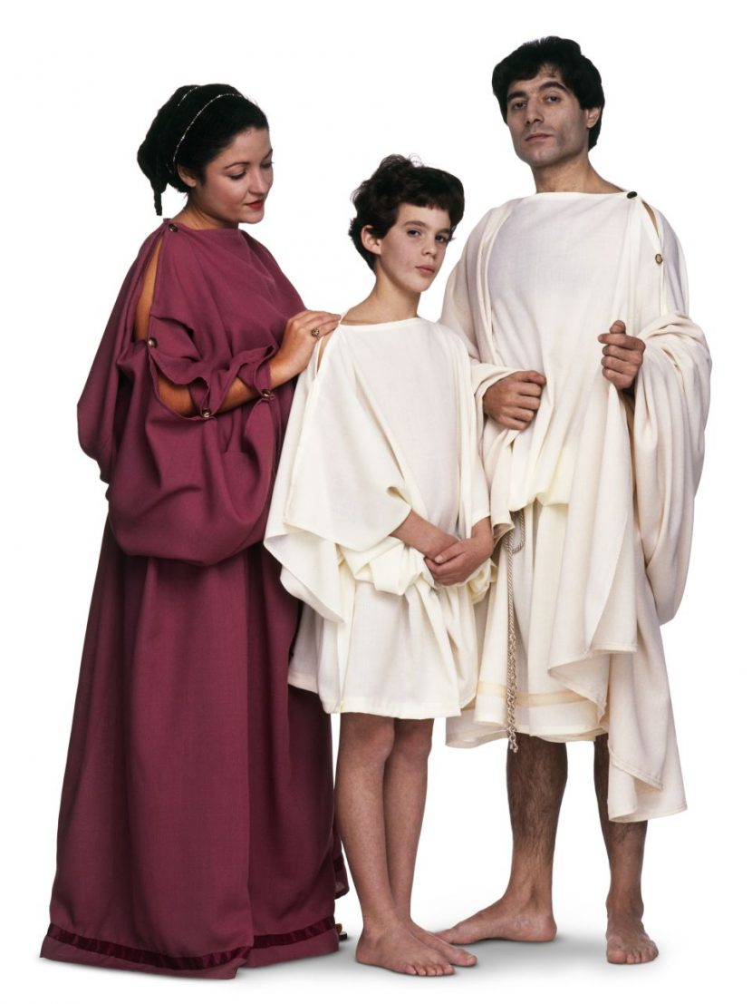Ancient greek fashion for kids 37