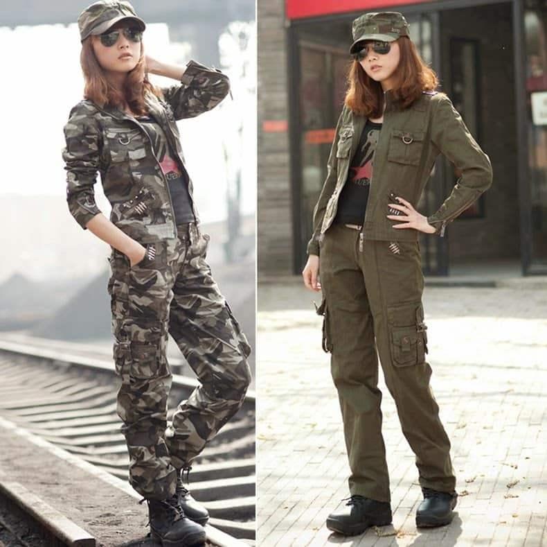 Одежда Милитари Женская