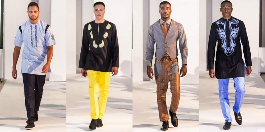 Мужской этно стиль Африки