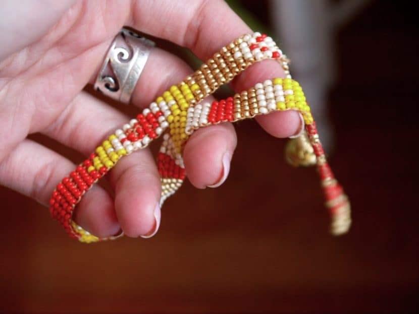 Фенечка в стиле этно