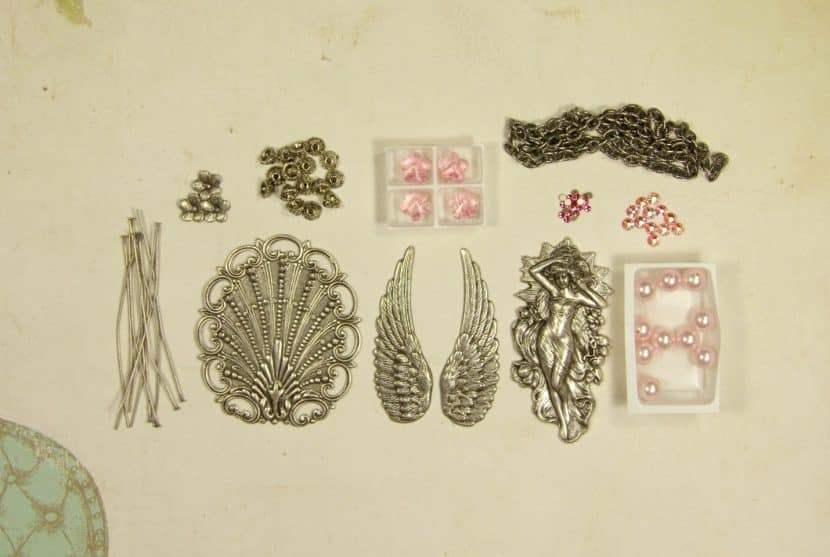 создание винтажных украшений