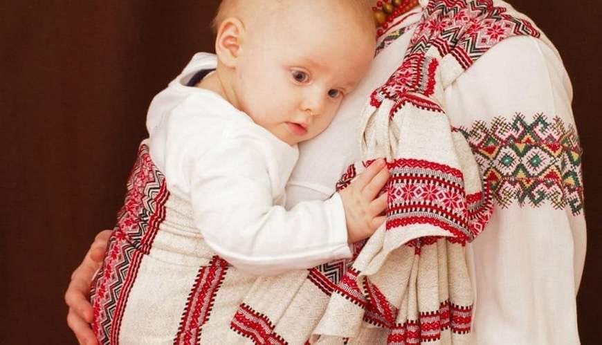 Малыш в вышиванке