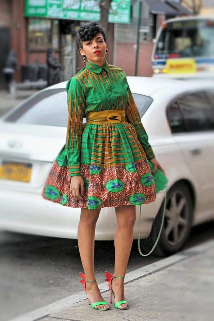 Африканские мотивы в современных изделиях