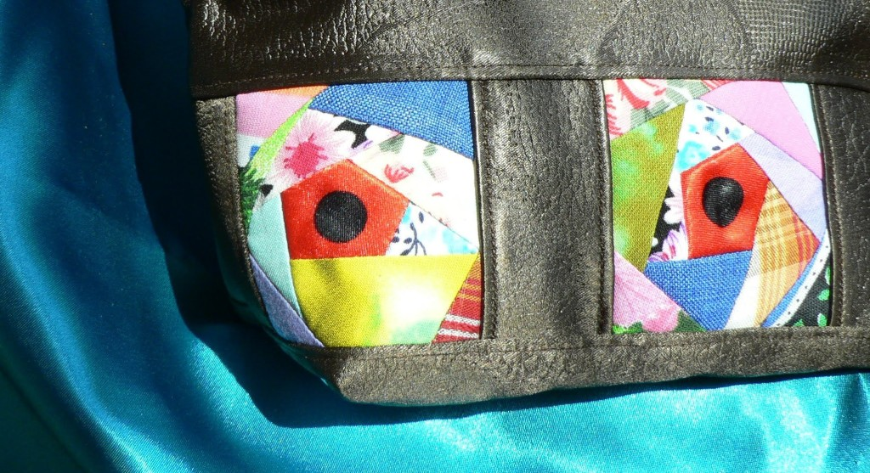Пэчворк на сумке