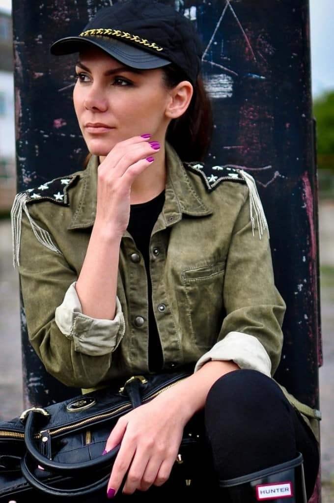 Стиль милитари-стильная одежда