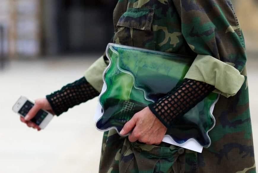Стиль милитари -аксессуары