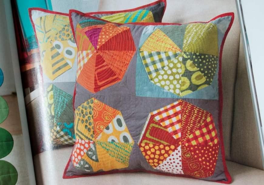 Подушки лоскутное шитье