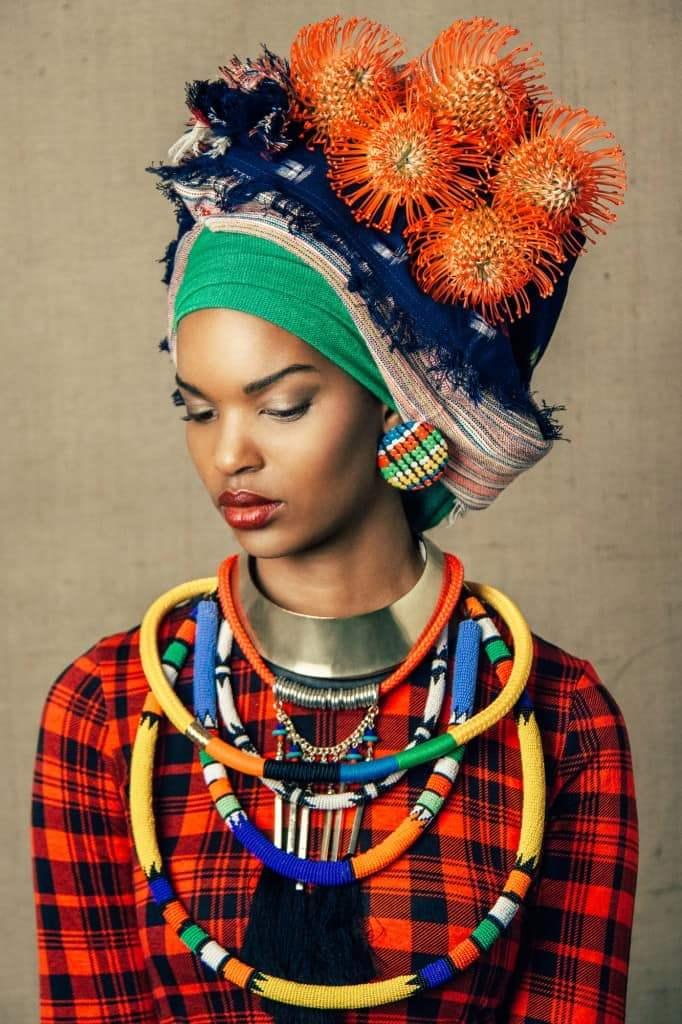 уккрашения в африканском стиле