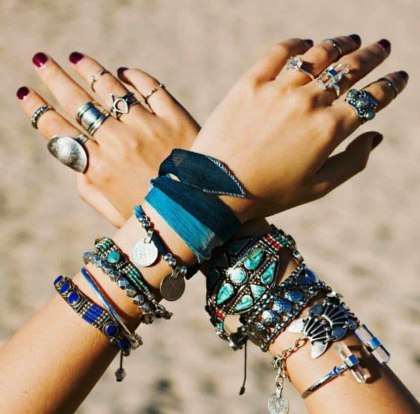 украшение на руки в стиле бохо