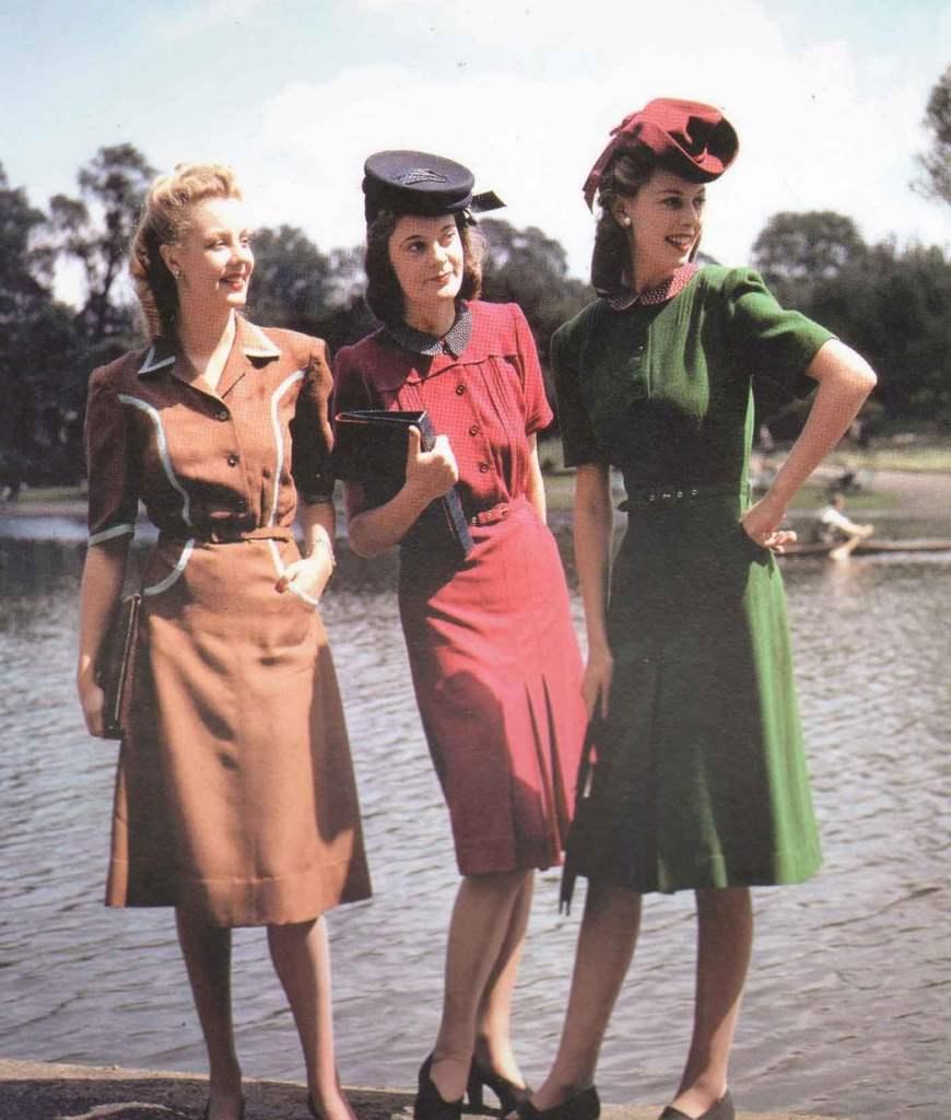 Мода 50 х годов фото в россии для