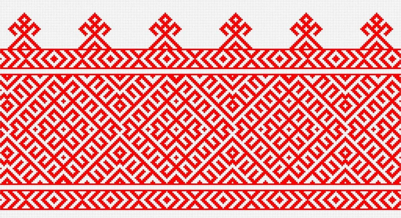 Узор старорусский