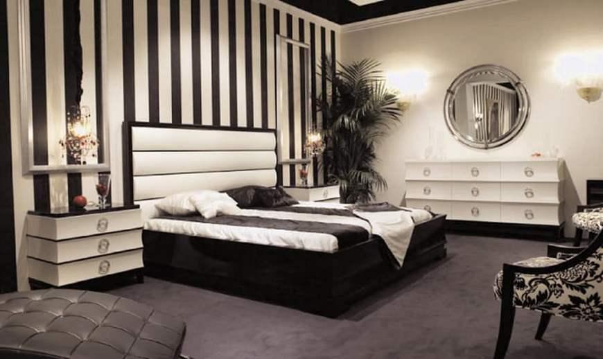 Арт деко спальня