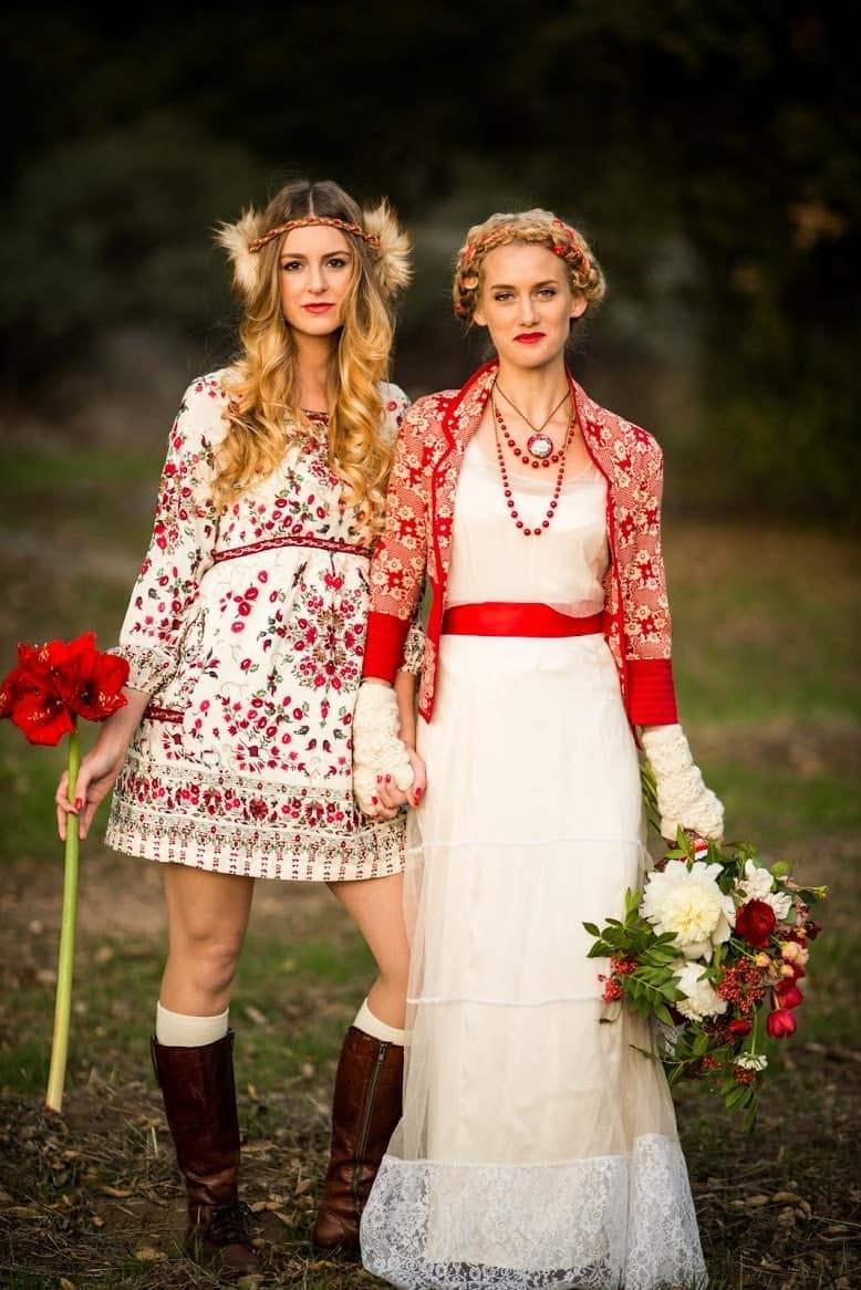 Славяне свадебные платья