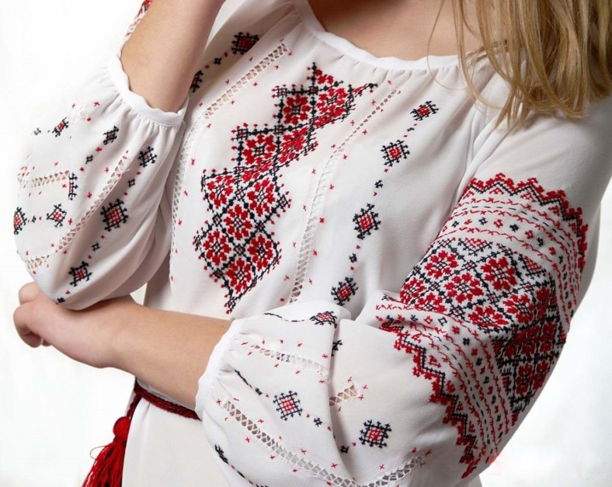 славянская вышивка правила