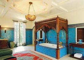 Марокканская мозаика в интерьере