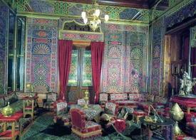 Отделка стен в арабском стиле