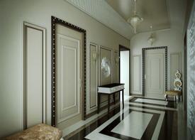 Интерьеры прихожей в стиле арт-деко