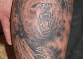 Животные в славянской татуировке