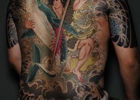 Традиционные японские татуировки