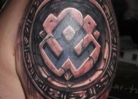 Татуировки славянских рун