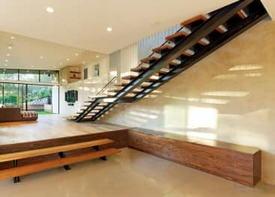 Лестницы в лофт-интерьере