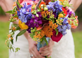 Свадебный букет в стиле бохо